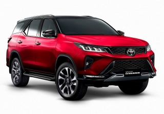 Toyota Fortuner 2021 giá từ 1,15 tỷ đồng có gì mới?