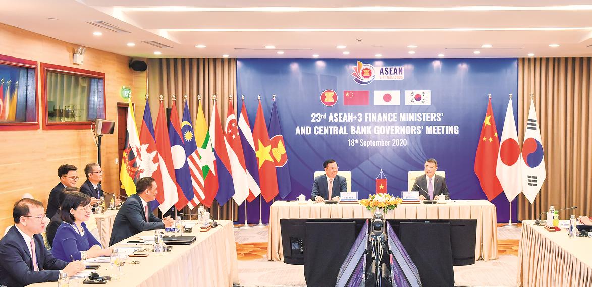 ASEAN+3 đồng lòng nỗ lực đối phó với đại dịch Covid-19