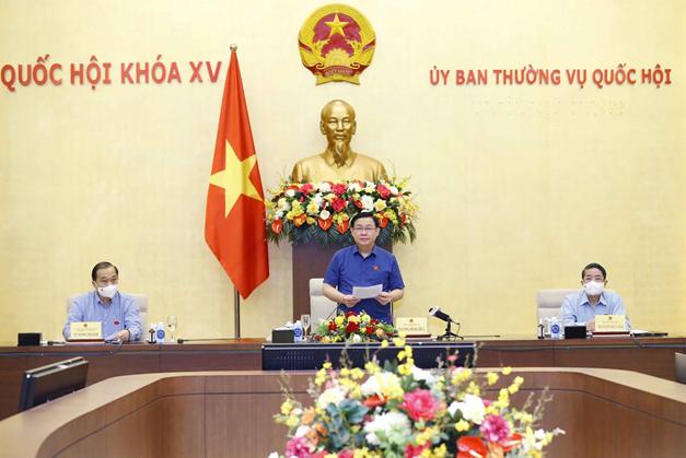 Chủ tịch Quốc hội Vương Đình Huệ: Điều hành chính sách tài khóa và tiền tệ linh hoạt, hiệu quả