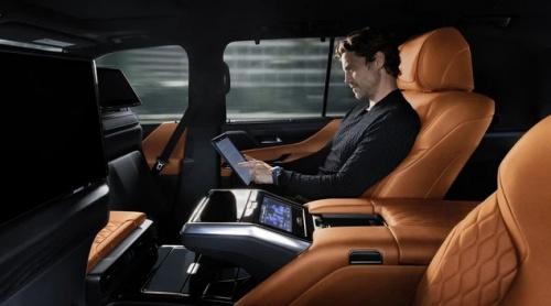Nội thất Lexus LX 600